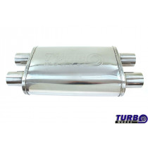 Sport középdob TurboWorks LT-03 dupla 2,5 dupla 2,5 X-Pipe
